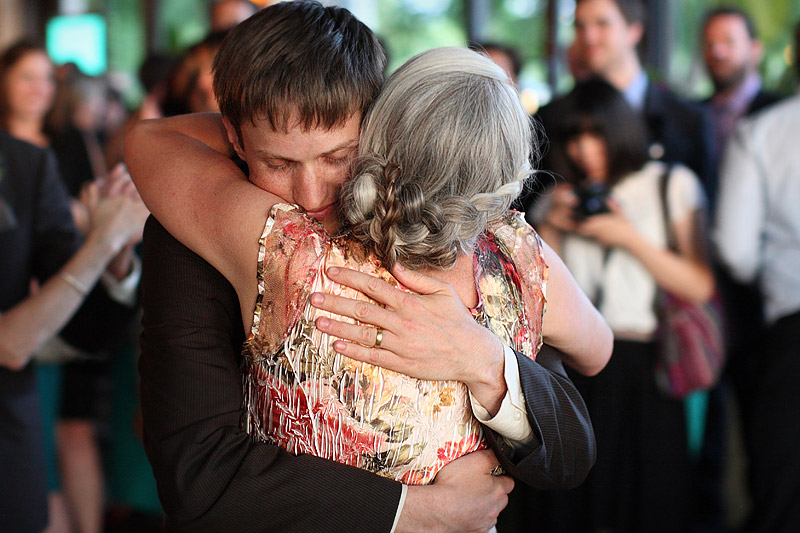 Mother son dance at lurcat wedding reception