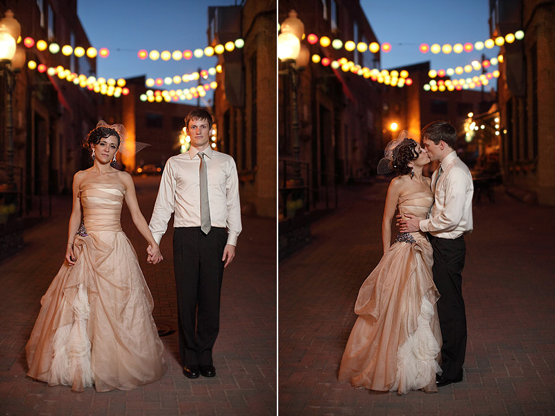 cafe lurcat alley wedding portraits