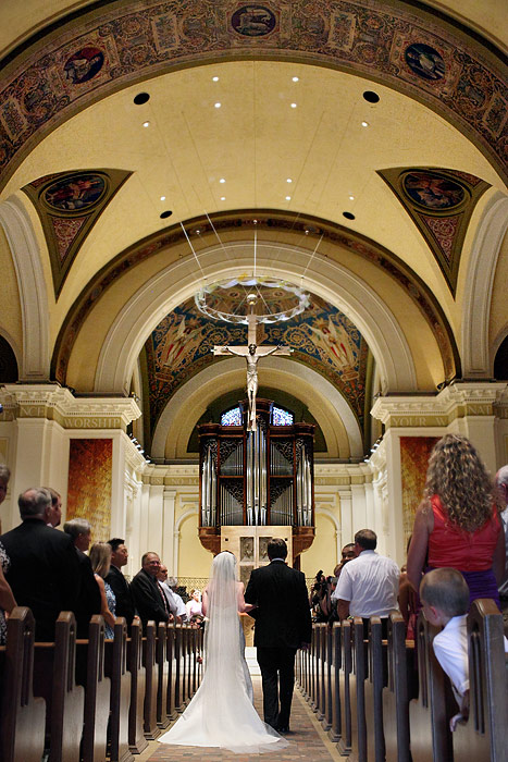 St. Thomas Aquinas Chapel wedding ceremony MN 03