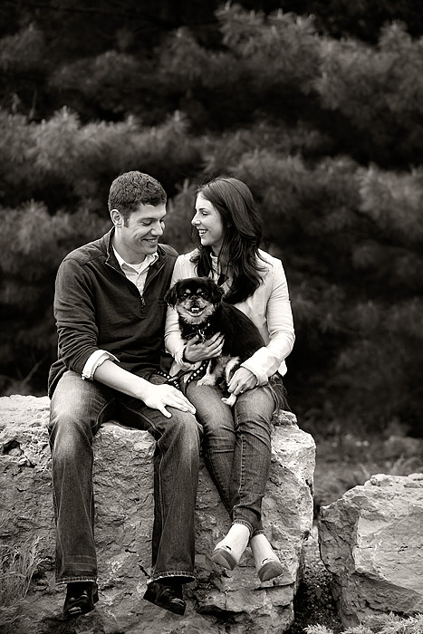 Japanese Gardens engagement photo session 01
