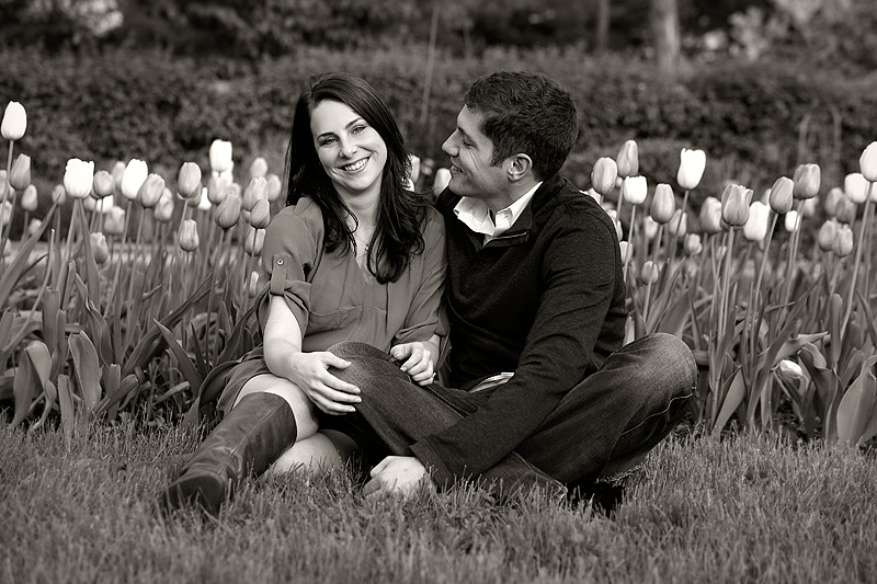 spring in Minneapolis - engagement photography by studio 306
