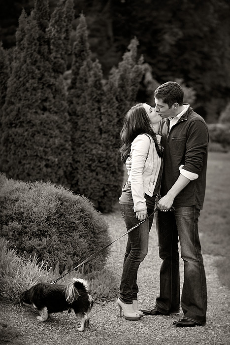 Japanese Gardens engagement photo session 03