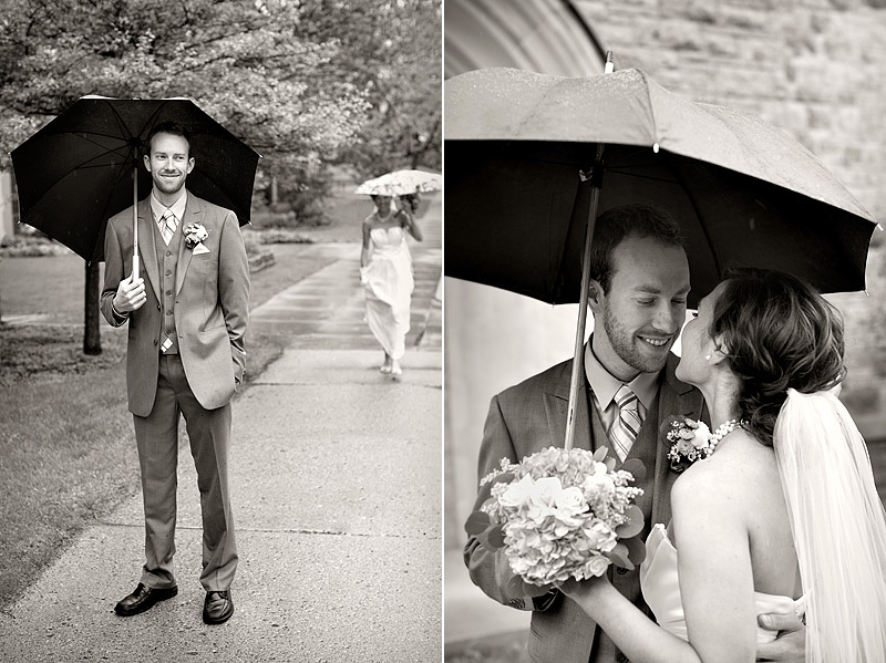 rainy wedding minneapolis photographer
