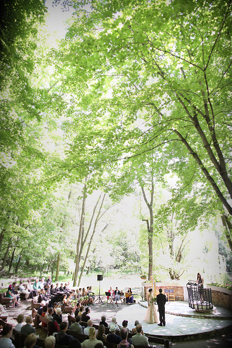 Woods outdoor Chapel ceremony 02