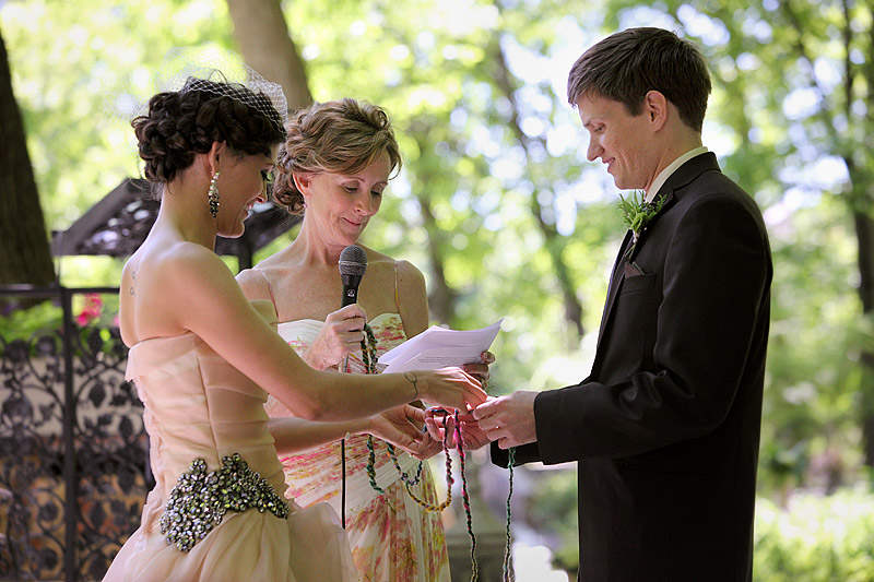 Woods outdoor Chapel ceremony 03