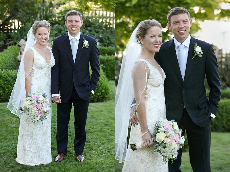 Bride and Groom - San Juan Island wedding