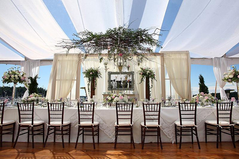 Roche Harbor wedding reception 03