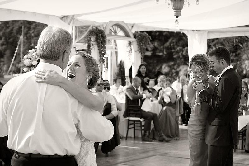 Roche Harbor wedding reception 10