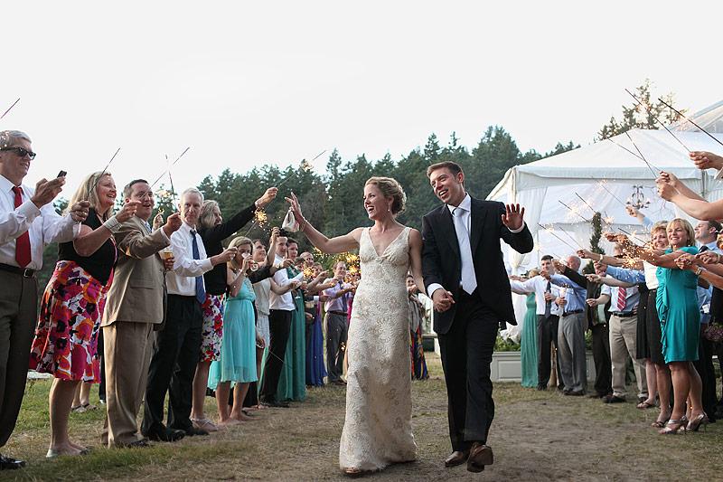 Roche Harbor wedding reception 12
