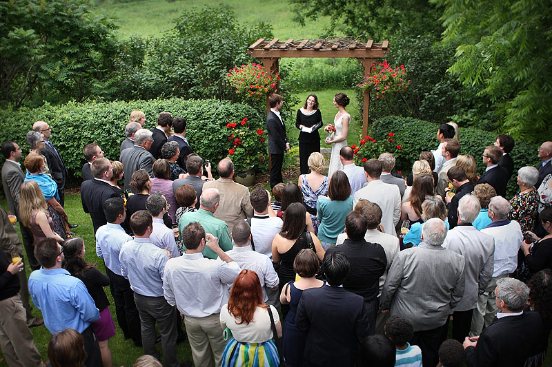 round barn farm wedding and reception - ceremony