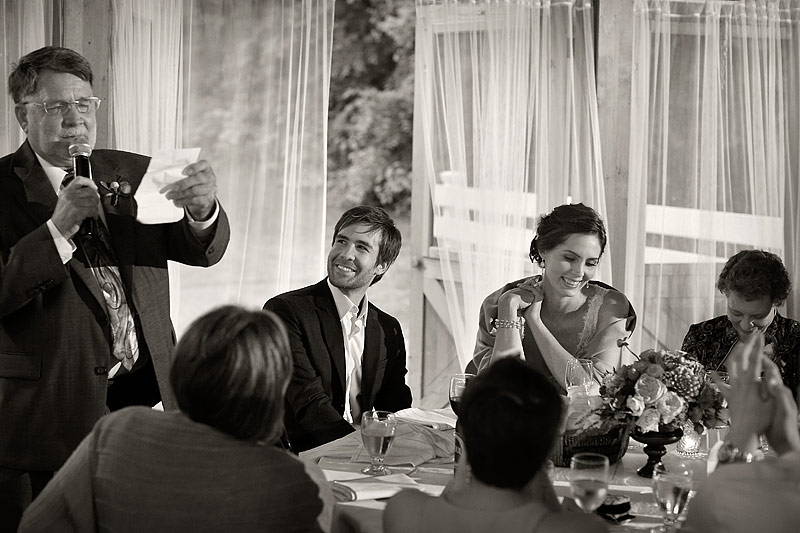 Father's toast at round barn farm wedding 02