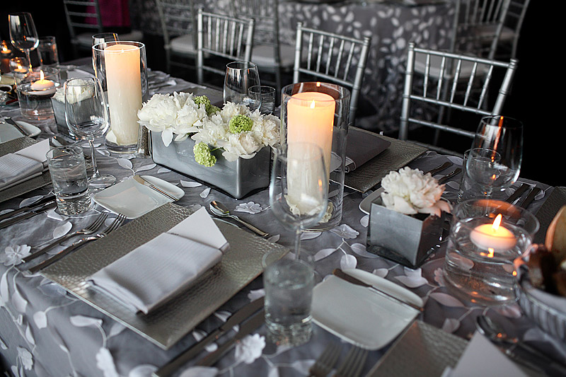 skyline room wedding reception at walker art center - apres decor