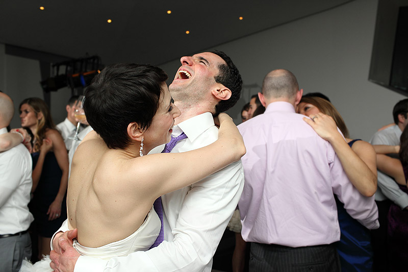 bride and groom dance at walker art center museum wedding 02