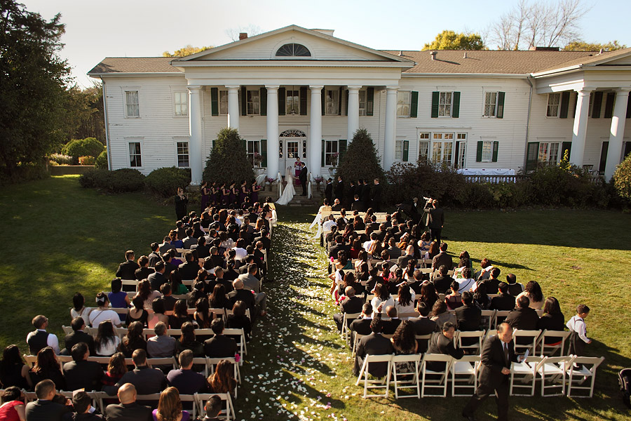Ceremony 02 at Cedarhurst Mansion