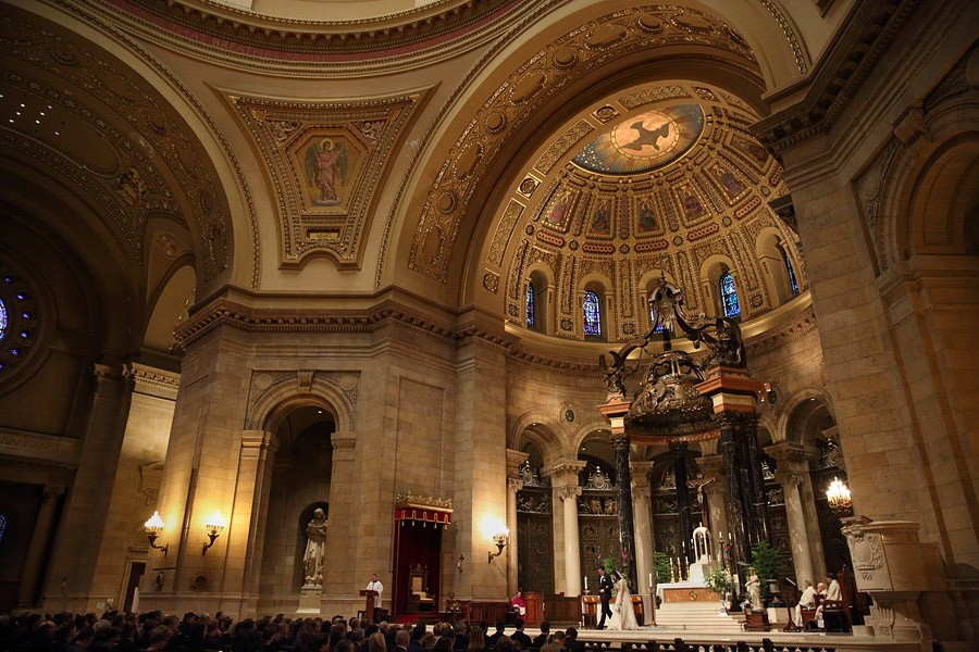 Cathedral of St. Paul wedding 02