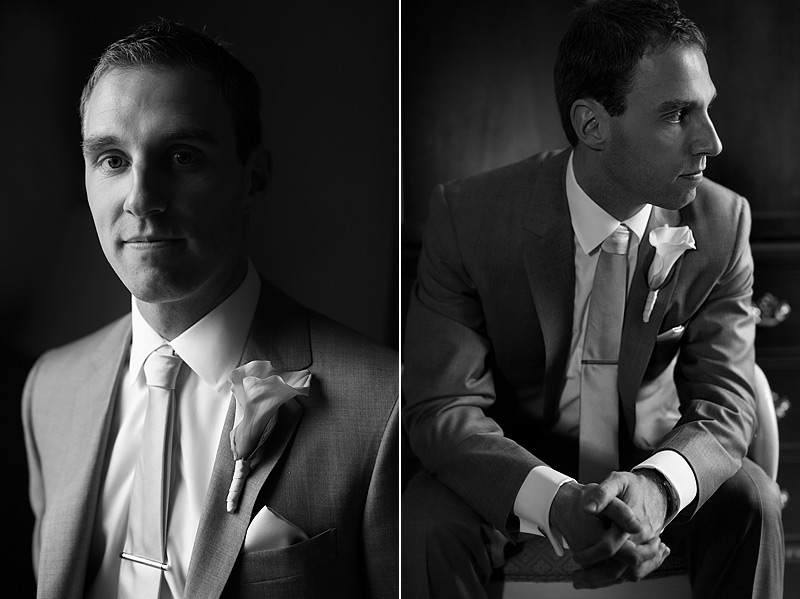 Groom portraits at St. Paul Hotel Wedding