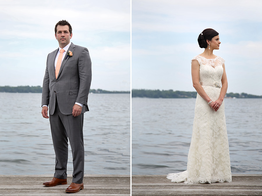 Lake Minnetonka wedding portraits