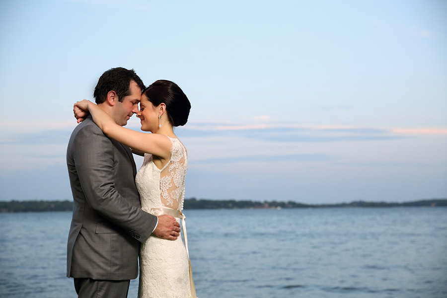 Lake Minnetonka wedding and reception portraits