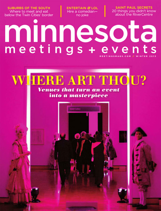 Studio 306 Cover for Minnesota Meetings and Events